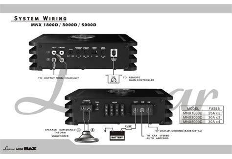 monoblock wiring diagram lanzar mini max 1800 watt smd mono block