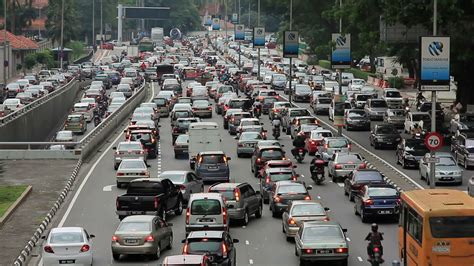 new year road closure malaysia malaysia commuters are spending more time in traffic