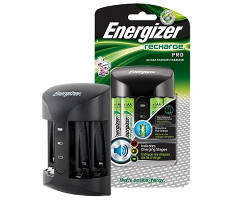 Energizer Advanced Aa nimh battery charger energizer recharge pro charger