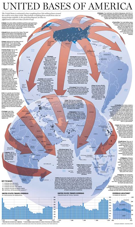 map us bases worldwide u s bases around the world graphic national post