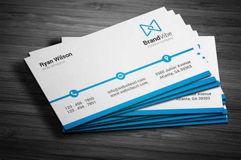 meats business cards template simple clean business card business card templates on