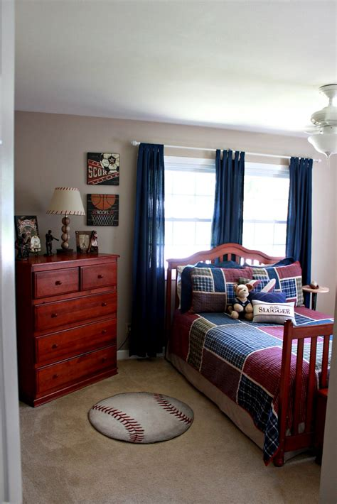 baseball bedrooms parker s room vintage baseball boys bedroom love