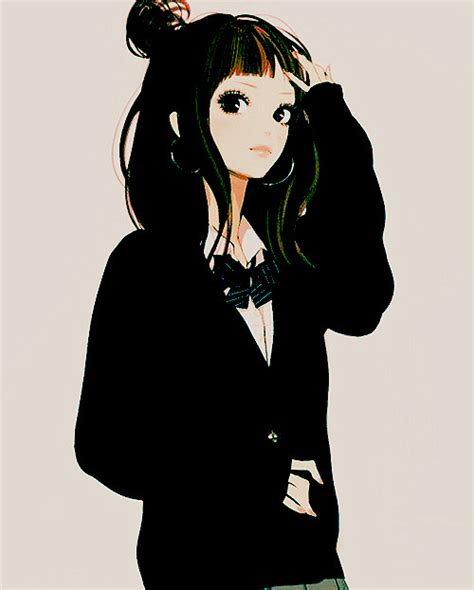 anime hairstyles tumblr girl anime on tumblr