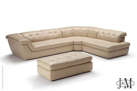 beige sectional 397 italian leather sectional beige color right j m