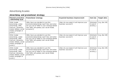 marketing plan template and guide marketing plan template and guide doc