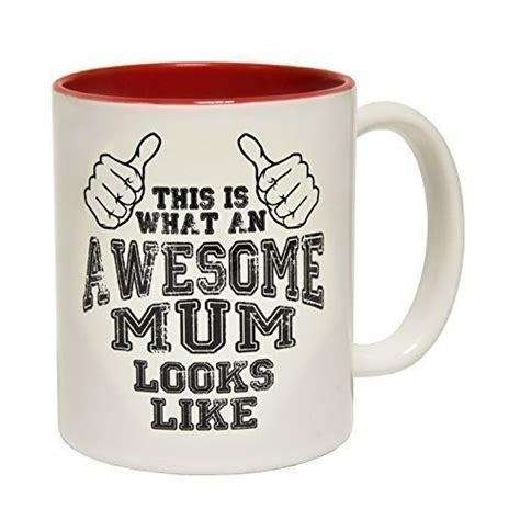 fun gifts for her 123t mugs this is what an awesome mum looks like ceramic