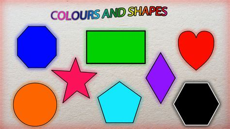 book of colors color book vol1 learn color and shapes shapes and