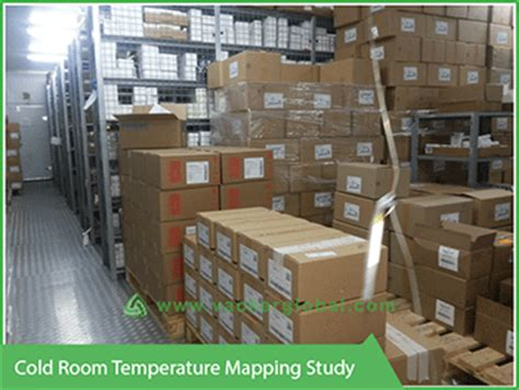 cold room temperature temperature humidity distribution mapping study vackerglobal