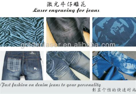 laser pattern jeans automatic jeans laser engraving machine for printing logo