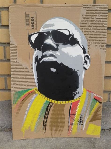 stencil biggie smalls banksy art hip hop art african art