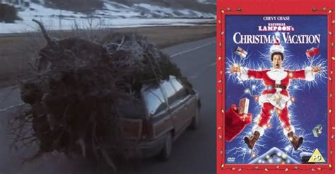 griswold christmas tree on the car a tree chopping tradition 171 sea and be