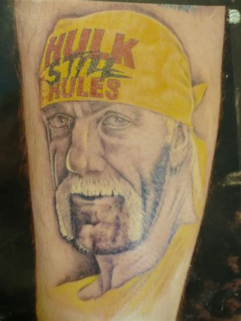 hulk hogan tattoo photo gallery of related fan tattoos