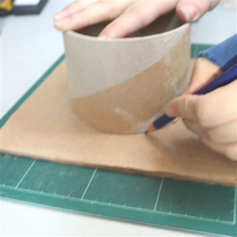 how to make a recycled magazine pencil holder the craft
