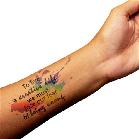 watercolor tattoo quote 12 beautiful watercolor tattoos worth getting