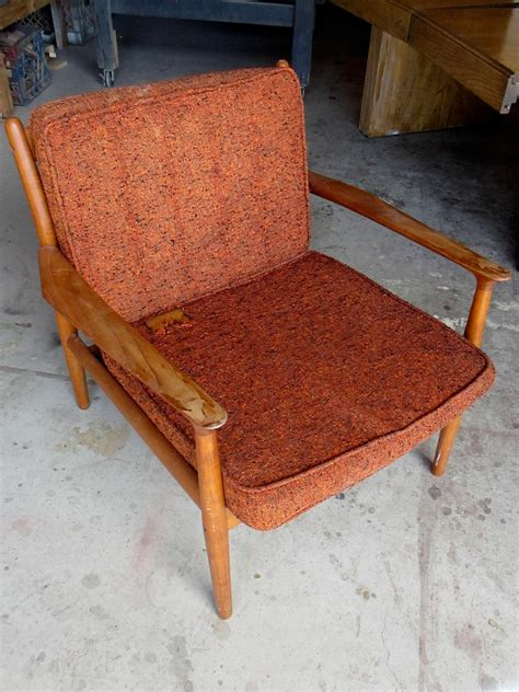 Small Armchairs Design Ideas How To Refinish A Vintage Midcentury Modern Chair Diy