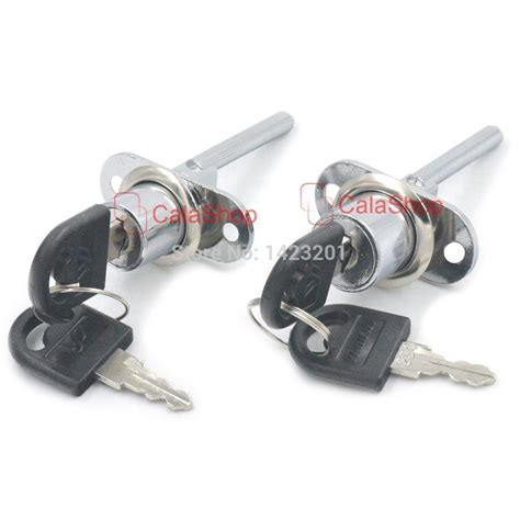 2 sets lot 16mm 19mm zinc alloy locks furniture drawer