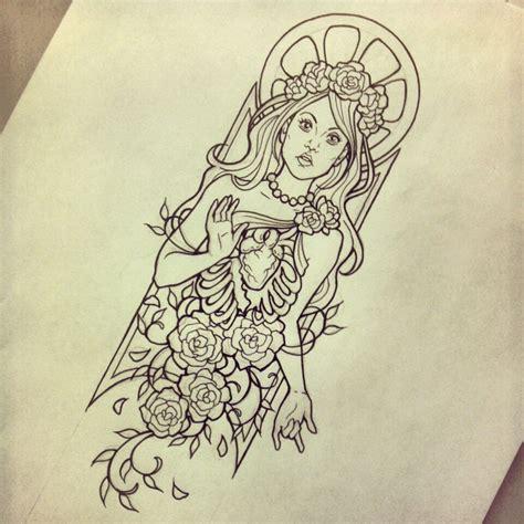 linework tattoo enlightenment design linework by myhedhertz on