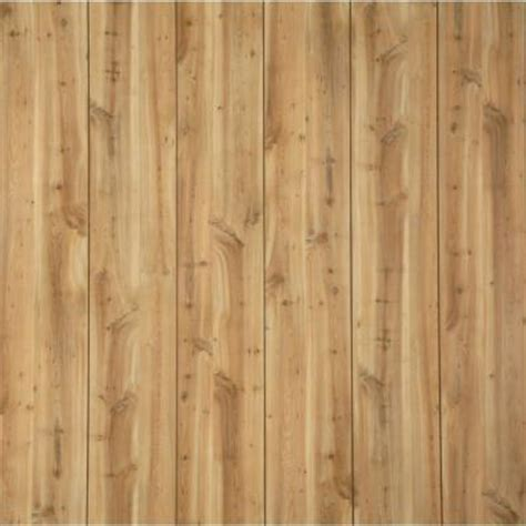 bathroom wall paneling home depot gp canyon yew 32 sq ft mdf wall panel 739525 the home