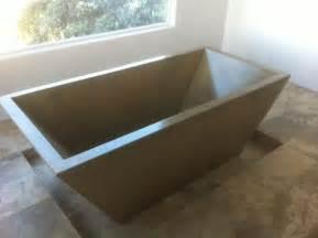 best 25 concrete bathtub ideas on concrete