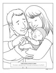 honor your parents coloring page coloring pages