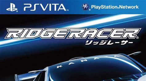 Kaset Ps Vita Ridge Racer ridge racer ps vita review just push start