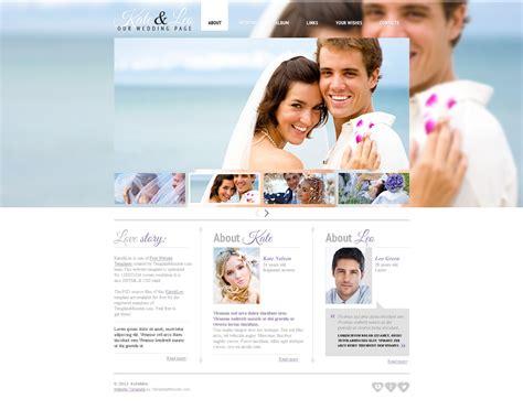 Hochzeit Website by Website Vorlage 51597 F 252 R Hochzeit