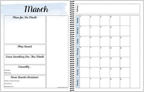 printable planner monthly view free printable 2017 planner sannipanni
