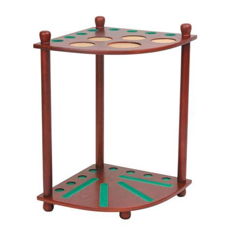pool ball holder rack pool cue floor rack w ball holders by american heritage family leisure