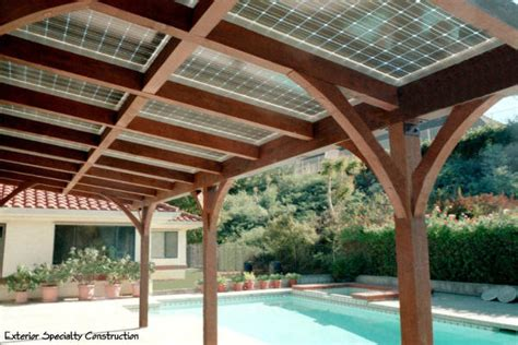 patio solar panels solar patio cover mediterranean patio los angeles by true building inc