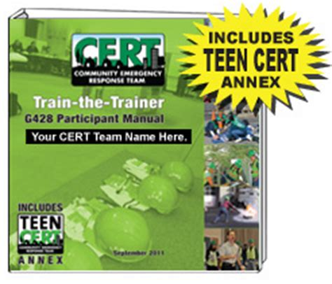 cert basic participant manual books 2011 cert the trainer course materials participant