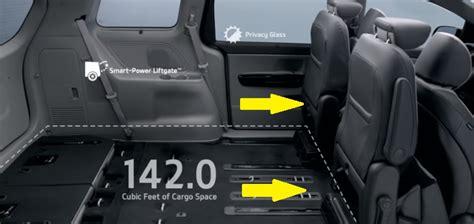 Kia Sorento Rear Seats Fold 2016 Kia Sedona Convenience In The Seats