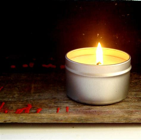 Soy Candles set of 2 soy candle tins container candles soy handmade
