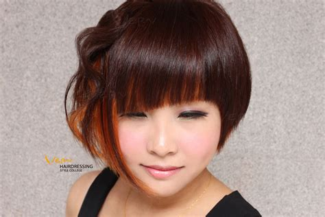 college bob hairstyles asymmetrical bob haircuts short hairstyles for women
