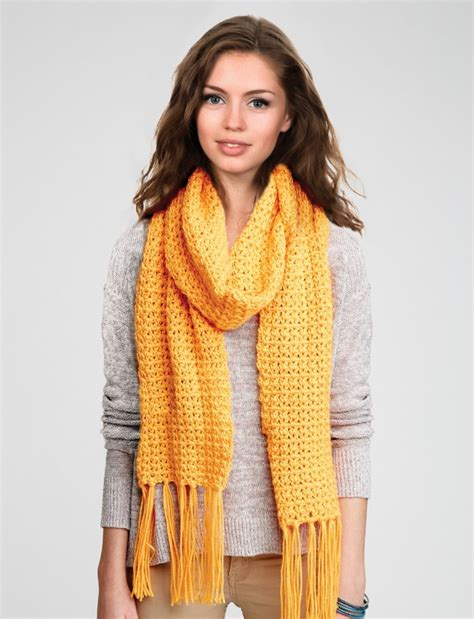 pattern not only but also free and easy crochet scarf patterns do it make it love it