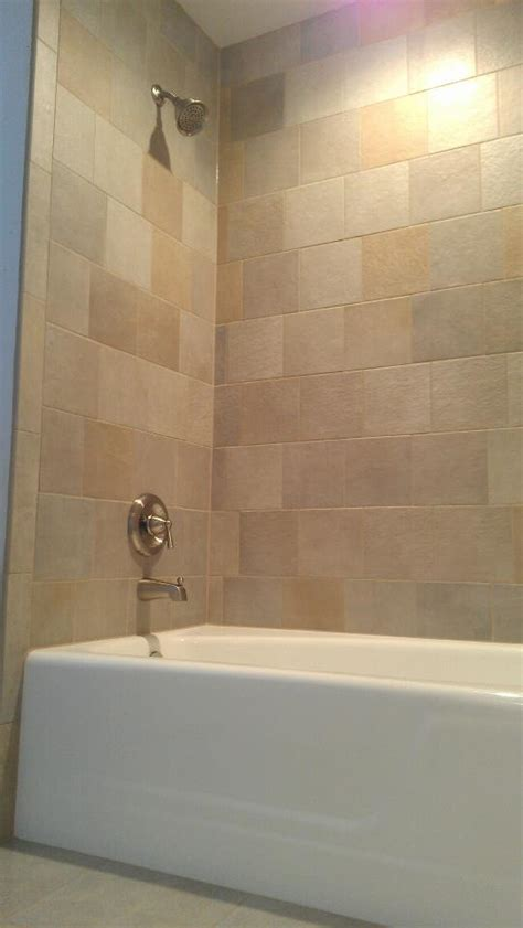 bathtub shower walls refinishing a cast iron bathtub with tile walls gallery