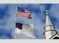 Churches Place American Flag Second to Christian Flag Newsmax.com