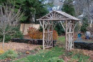 How To Build A Rustic Pergola by Gallery For Gt Rustic Cedar Arbor