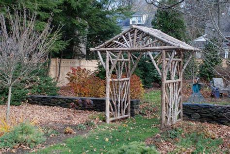 how to build an arbor trellis rustic arbors pergolas wedding chuppahs branch