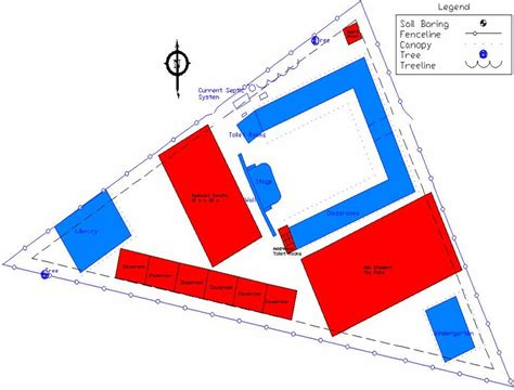 site layout of the building civil and environmental engineering international senior