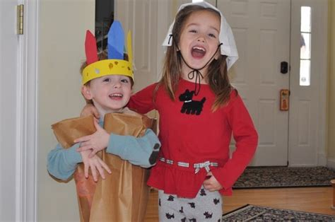 preschool thanksgiving costumes indian vest just one my little indian and my pilgrim classy mommy