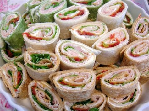 pinwheel recipes cheap party food recipes pinwheel party sandwich recipe