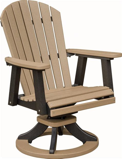patio furniture swivel chairs berlin gardens comfo back outdoor swivel rocker poly dining chair