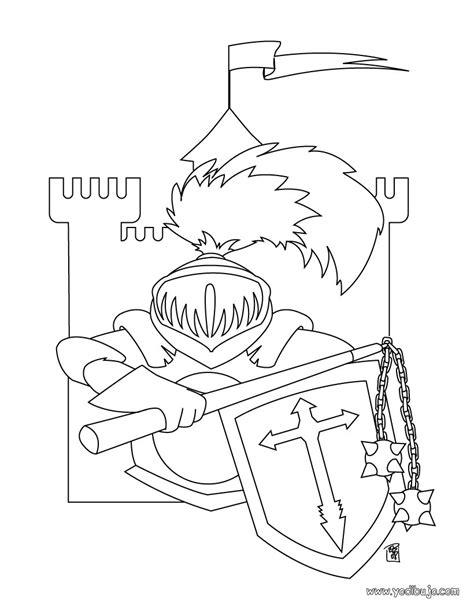 caballero infantil caballero fantasia dibujo projecte dibujos para colorear armadura de caballero es hellokids com