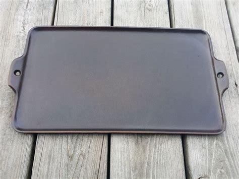Cast Sheet griswold cast iron 18 grill quot cookie sheet quot block