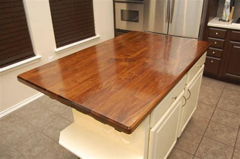 black walnut kitchen island countertop by wunderaa lumberjocks com woodworking community