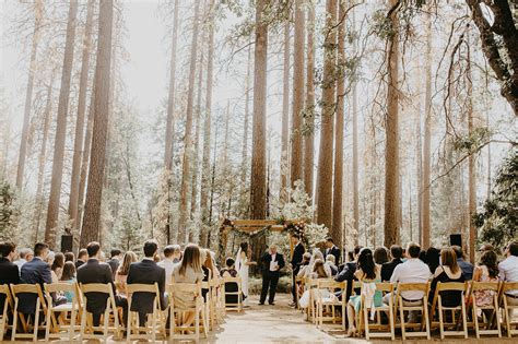 Yosemite Wedding by Free Spirited Boho Inspired Wedding In Yosemite National