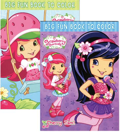 strawberry color wholesale strawberry shortcake coloring book sku 428233