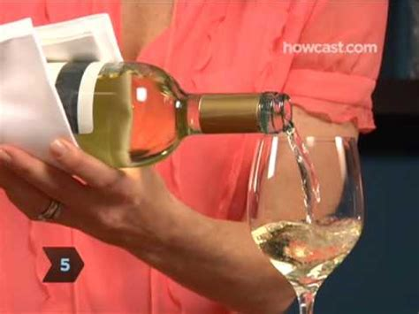 how to pour a bottle of wine youtube