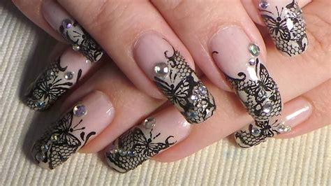 Nail Blacklace 50 lace nail design ideas