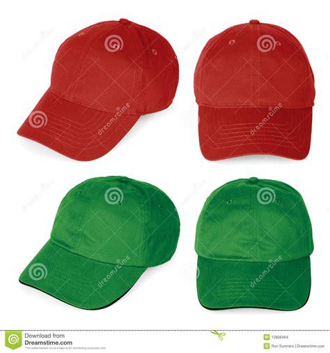 imagenes de gorras rojas gorras de b 233 isbol rojas y verdes en blanco imagenes de
